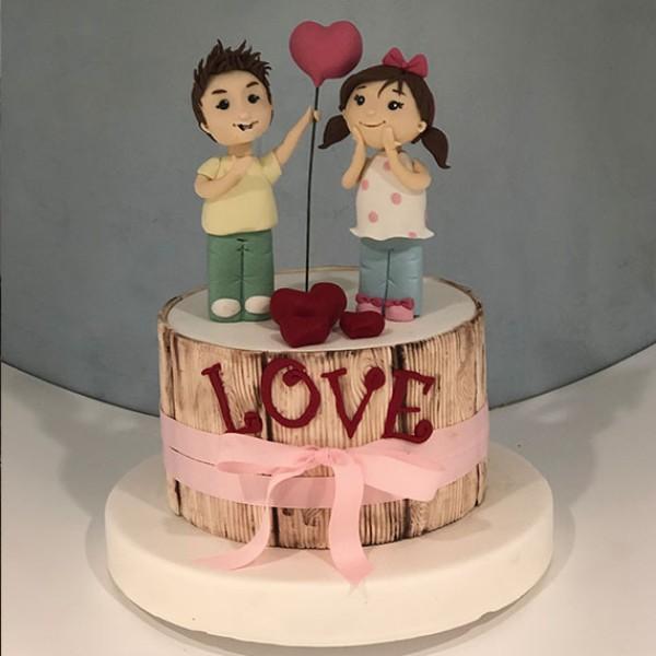 Sevgililer Günü Pasta 04