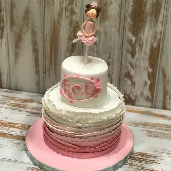 Balerin Kız Pasta