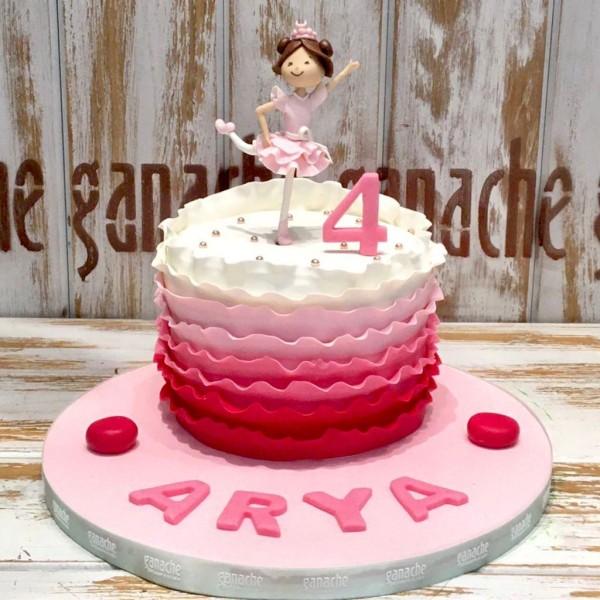 Balerin Kız Pasta 2