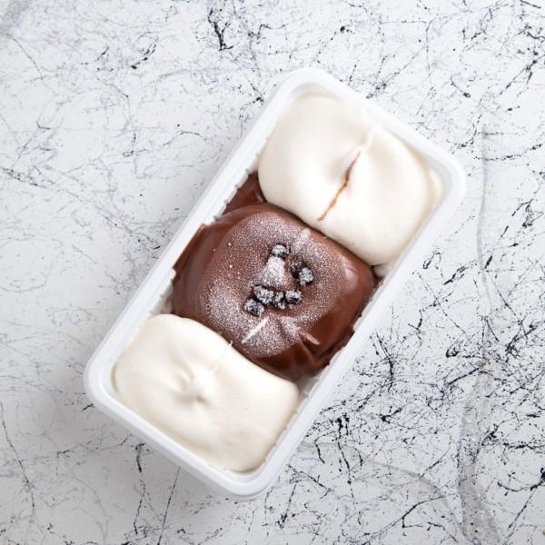 Çikolatalı Sade Dondurma