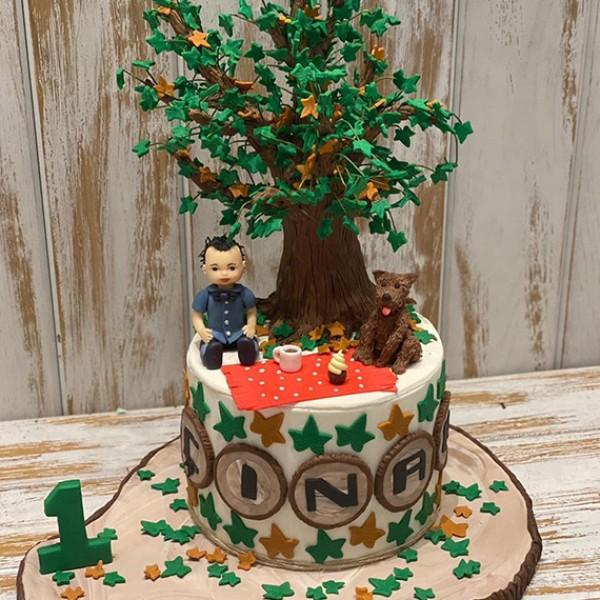 Çınar Ağacı Pasta